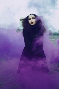 71 Coolest Examples of use of Smoke Bomb in Photography