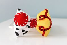 Toy Story Hair Bow Jessie Hair Clip Jessie Hair by on Etsy Jessie Toy Story, Ribbon Art, Ribbon Bows, Festa Toy Story, Disney Hair, Toddler Hair Clips, Toy Story Birthday, Mickey Ears, Girls Hair Accessories