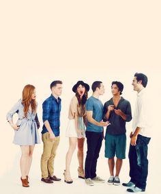The Teen Wolf Cast