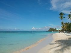 The beach at Dreams La Romana resort this morning. A nice first day of fall ;) Bayahibe, Dominican Republic, Caribbean