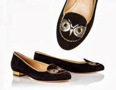 My Owl Barn: Charlotte Olympia Owl Shoes