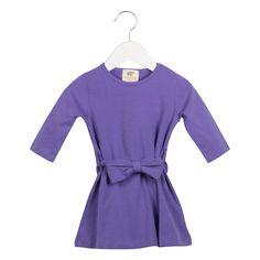 Little Bow Peep Dress - Grape #organic #toddler #purple