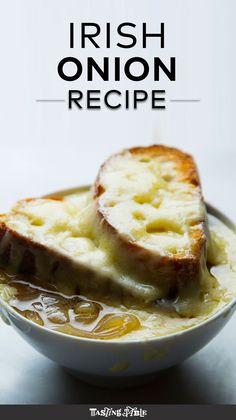 Make ABV chef James Klucharits' recipe for Irish onion soup.