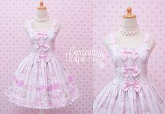 Baby Bear Sweet Lolita Dress Pink Gingham - Pink Jumper Skirt Dress - Cute Dress For Birthday - Perfect Tea Party Dress