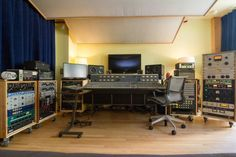 Upstairs at the 8: 1978 Neve 5316 w/ 30 channels of 33114 preamp/EQ.