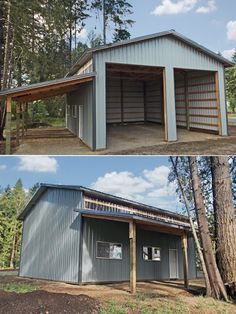 Diy garage kits metal garage kits do it yourself construction from diy pole barns residential shops and garages jt woods picasa web albums solutioingenieria Image collections