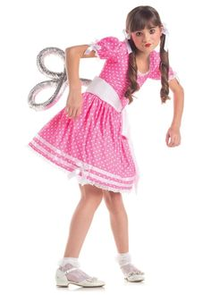 Wind Up Toy Doll Girls Costume