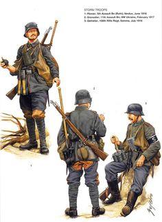 DEUTSCHES HEER - 1916-1917 -
