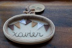 NEW  Personalized Oval Embroidery Hoop Art by CatshyCrafts on Etsy, $65.00