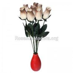 rosa-blanca-dorada-grande Grande, Plants, White Rose Flower, Wooden Flowers, Roses, Plant, Planets