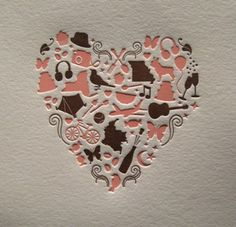 Dolce Press...one of my most favoritest letterpressed things ever...and I don't even like hearts! :)
