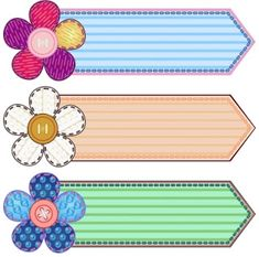 Illustration about Set of scrapbook banners with flowers and stitches. Illustration of advertisement, button, banner - 22182439 Frame Border Design, Page Borders Design, Classroom Labels, Classroom Decor, Owl Classroom, Classroom Rules, Boarders And Frames, School Frame, School Labels