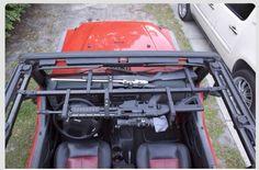 Jeep gun rack