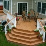building a deck on a mobile home