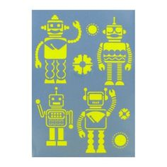 Show-Offs Robot Stencil | Shop Hobby Lobby