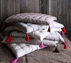 Natural Floor Pillow | Jayson Home