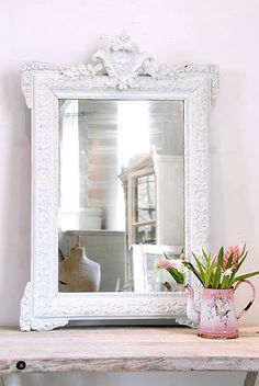 Classic Antique French Mirror