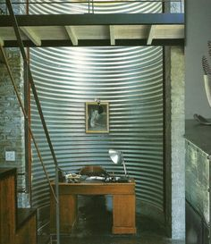 Corrugated Metal Curve