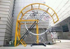 ARQUITETANDO IDEIAS: Racks para bikes - equipamentos urbanos