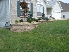 Front Yard Retaining Walls & Landscaping | O'Fallon, Missour… | A+ Landscape Solutions | Flickr