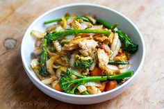 Chicken Cabbage Stir Fry ( Paleo, Whole30, Gluten-free)
