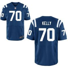 7c6889f4460f Indianapolis Colts  70Ryan Kelly Nike Royal Blue Elite 2016 Draft Pick  Jersey Jared Goff