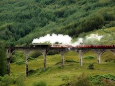 Real Harry Potter Steam Train, Scotland