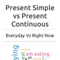 Infographic: Simple Vs Continuous