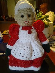 Ravelry: Mrs Santa Claus pattern by Sue Pendleton