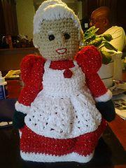 Ravelry: Mrs Santa Claus pattern by Sue Pendleton