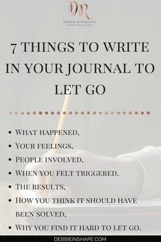 Journaling can be a powerful form of therapy and an outlet for feelings to manifest themselves. Next time you're dealing with negative emotions surrounding an event try journaling. Coaching, Vie Motivation, Fitness Motivation, Journal Writing Prompts, Journal Prompts For Adults, Good Vibe, Self Development, Personal Development, Self Improvement