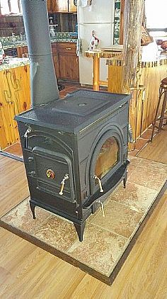 Autocrat wood stove for autos post for Lakewood wood stove