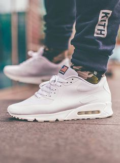 Nike Air Max 90 Hyperfuse 'Independence Day' White (by Michael Sober)