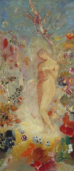 On of my absolute favorites at the MET. Pandora, ca. 1914 Odilon Redon (French, 1840–1916) Oil on canvas