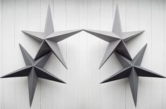 DIY: three dimensional star