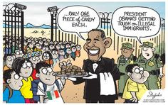 Barack Obama editorial cartoons - Newsday