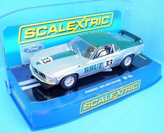 Scalextric Moffat Mustang NO33 1 32 Slotcar Excellent Boxed | eBay