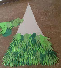 KLASSENKUNST: Tannenbaum aus Händen
