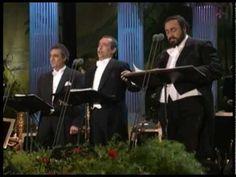 The Three Tenors - La Donna è Mobile e Libiamo ne'lieti Calici (Verdi) l. Sound Of Music, My Music, Bridal Chorus, Opera Arias, Placido Domingo, Opening Credits, Latest Music Videos, Wedding Music, Types Of Music