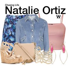 Chasing Life by wearwhatyouwatch on Polyvore featuring WearAll, Topshop, Glamorous, Jimmy Choo, Chloé, Carolee, Jacquie Aiche, television and wearwhatyouwatch