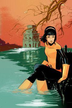 Karma the New Mutant by Peter-v-Nguyen.deviantart.com on @deviantART