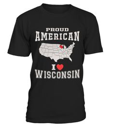 """# WISCONSIN STATE MAP FLAG OF AMERICA .  LIMITED EDITION !The perfect hoodie and tee for you !HOW TO ORDER:1. Select the style and color you want:T-Shirt / Hoodie / Long Sleeve2. Click """"Buy it now""""3. Select size and quantity4. Enter shipping and billing information5. Done! Simple as that!TIPS: Buy 2 or more to save on shipping cost!Guaranteed safe and secure checkout via:Paypal   VISA   MASTERCARD"""