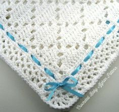 Newest crochet patterns for baby blankets pdf pattern crocheted baby afghan, diamond lace baby afghan blanket pattern XIKMFEQ - Crochet and Knit Crochet Afghans, Motifs Afghans, Baby Afghan Crochet Patterns, Baby Afghans, Baby Blanket Crochet, Baby Blankets, Afghan Blanket, Crochet Borders, Crochet Blankets