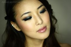 From Head To Toe: Jennifer Lawrence Inspired Prom Smoky Eye Tutorial