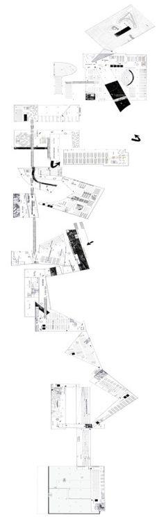 OMA Berlin: Dutch Embassy 'unrolled' Circulation
