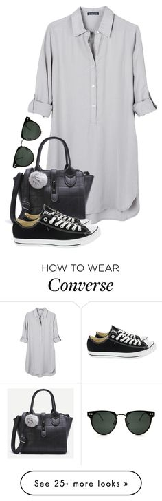 """""""~433\\433~"""" by taytay-55 on Polyvore featuring United by Blue, Converse and Spitfire"""