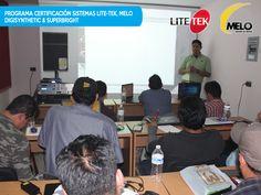 #LITETEKMUCHASGRACIAS Clínica de Configuración y operación de los equipos MELO, LITE-TEK, DIGISYNTHETIC & SUPERBRIGHT