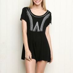 Shop Women s Brandy Melville Black White size One Size Dresses at a  discounted price at Poshmark. 580ecf970