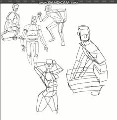Gesture Drawing, Anatomy Drawing, Anatomy Art, Animation Sketches, Art Drawings Sketches, Cartoon Drawings, Croquis D'animation, Sketch Video, Drawing Reference Poses