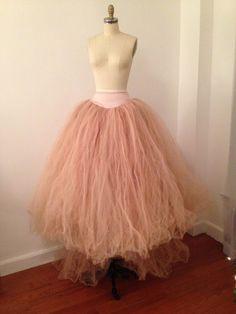 Emanuel Ungaro Vintage Skirt-Silk Tulle